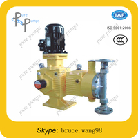 CE small hydraulic diaphragm dosing pump made in China