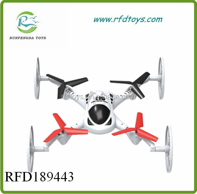 2.4G RC car Quadcopter Drone Flying Fly Car Land / Sky 3 in 1 UFO RTF car