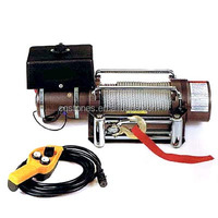 2000lbs 12v electric winch portable durable for SUV ATV etc