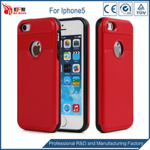 Fast delivery detachable oem for iphone 5 phone case