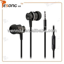 Headset Earphones headphone w/ Remote Mic Vol for Apple iPhone 5 iPod