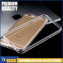 Good quality protective & soft transparent back phone cover for iphone 7 ultra thin clear tpu gel case