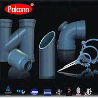 DN160 PP 3 Layers Soundproof Drainage Pipe and Fittings