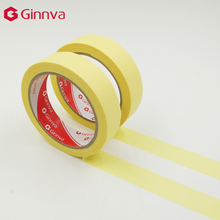 high temperature resistant insulation automotive brown masking tape with solvent rubber adhesive