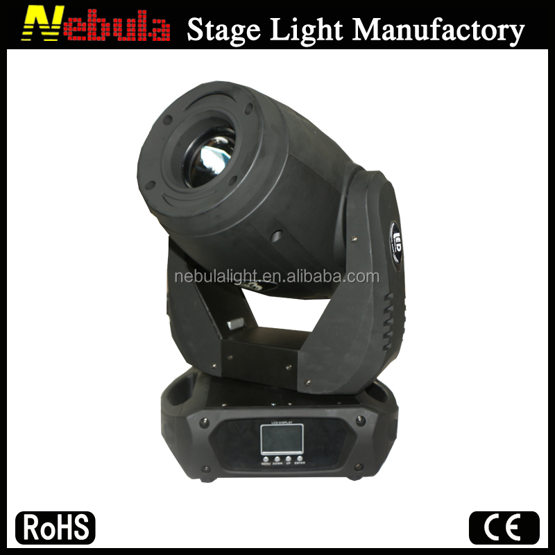 New products 2016 150W High Power LED Professional Moving Head Spot Stage Lighting