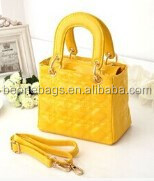 Eco Friendly Colorful Pu Leather Shoudler Children Fancy Hand Bag Made in China