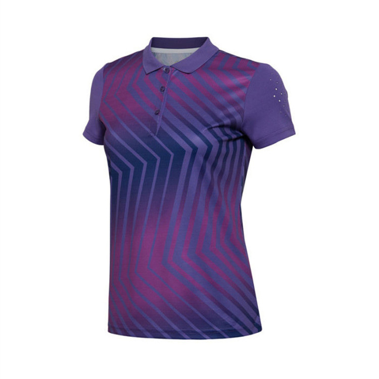 Custom Men's Pique Breathable Quick Dry Sublimated 3D Print Sports Polo Shirt(A942)