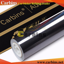 Carbins High Quality Glossy 5D Carbon Fiber Vinyl Heating Films 1.52*20m