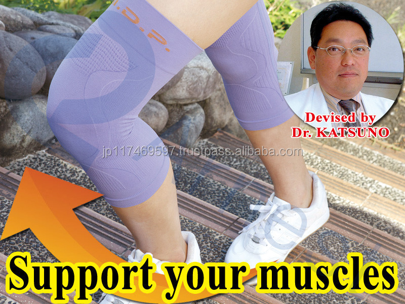 Japanese sports health cares supplies medical products knees protecters pain relieve pad cap supporters hizakarusan