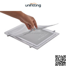 Acrylic high quality Magnetic LED <strong>sign</strong> display Poster Holder