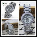 Alloy beauty cheap silver bracelet watch with best price