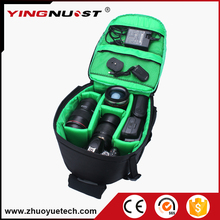 Hot Sale Products 2016 Top 50 Photo Bag Soft Shoulders Green Red Orange Waterproof Bag Men Women Camera Backpack for Canon Nikon