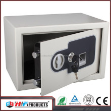 ISO9001-2008 hotel safe , fingerprint 6mm gun safe