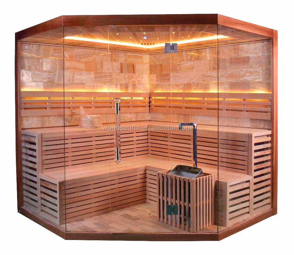 6 person sauna room