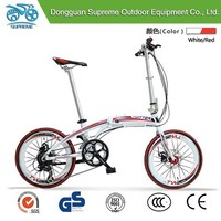 Hot selling mini folding bicycle 20 aluminum lady/girl bike
