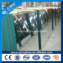wholesale 3mm aluminum and silver one way mirror glass of transoarent mirror glass