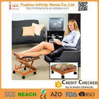 Direct factory price home furniture footrest frames in wood