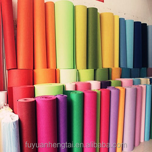 Polyester felt,acrylic fabric ,non woven felt fabric from China supplier