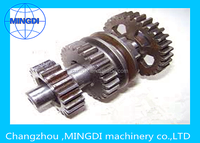 MINGDI Surface Hardening HRC40-50, Cemented Quenching HRC58-62 gear shaft