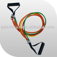 Adjustable Muscle Toning Rubber Resistance Bands