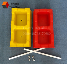 interlocking hollow block mold plastic strong and durable