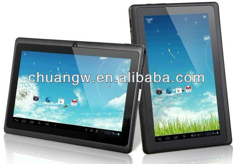 cheap 7 inch Allwinner A23 Q88 Dual Core android tablet