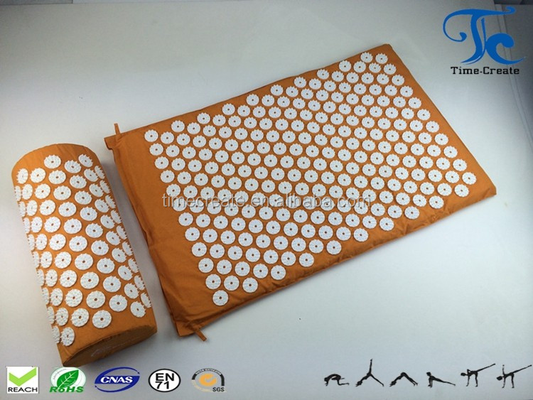 back pain treatment deep massage mat high quality eco-friendly acupressure mat