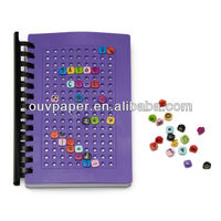 Novelty silicone cover daily planners notebook