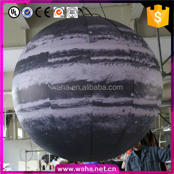 Led Lighting Decoration Inflatable Mercury/Venus/Mars/Jupiter/Saturn/Uranus/Neptune Balloon