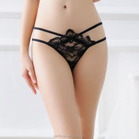 New Sexy Women G String Thongs Transparent Lace Panties Ladies' Seamless Underwear Knickers Bragas Calcinha