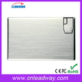 2016 High quality 128MB-32GB business credit card usb stick