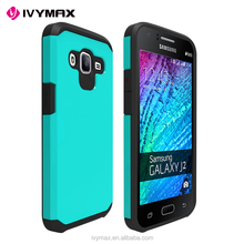 IVYMAX New Model Mobile Phone Case Double Color TPU + PC Slim Armor Shockproof case for Samsung Galaxy J2 2016/J210