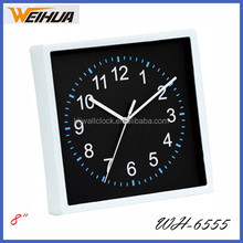 High quality Plastic wall clock safe