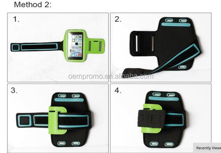 Cheap Promotional Mobile Phone Running Armband