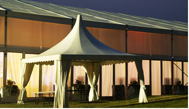 20x50m black curve party tent, Big marquee party tent