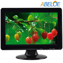 "dc 12v external adapter 1280x800 resolution 12"" lcd monitor with vga"