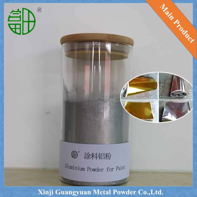Sliver aluminum powder for paint