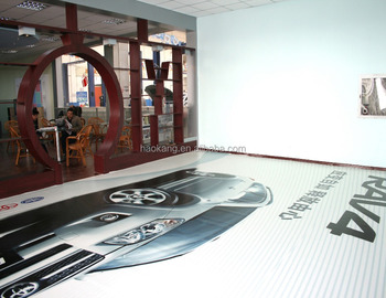 Individualized PVC Flooring for advertising