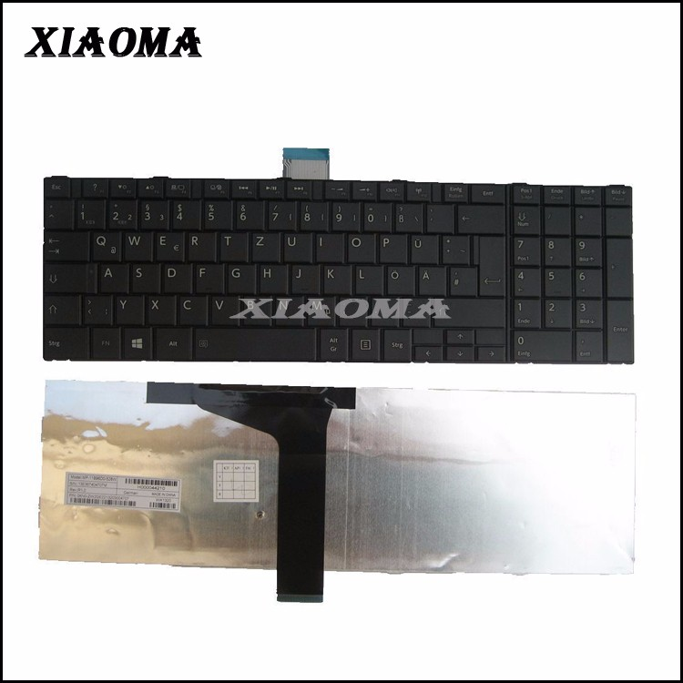 brand new for Toshiba Satellite C850 C850D C855 C855D L850 L850D L855 L855D laptop notebook keyboard GR German layout