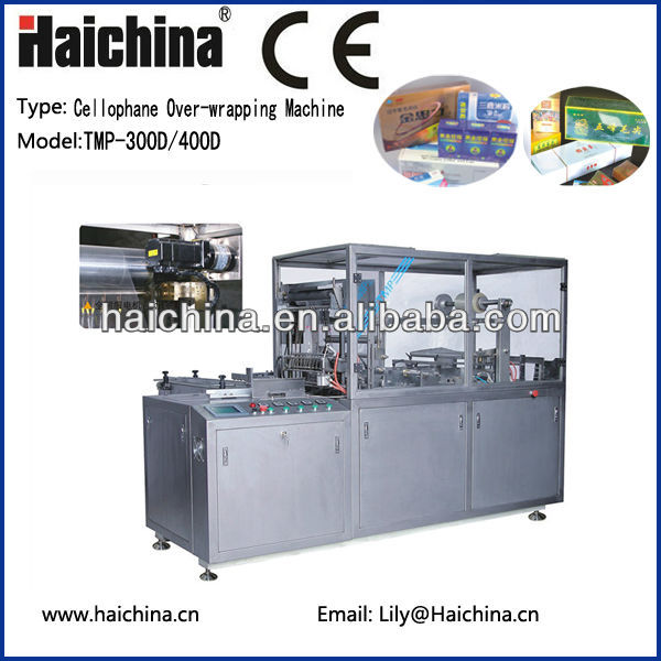 TMP300D Automatic Cellophane Overwrapping Machine