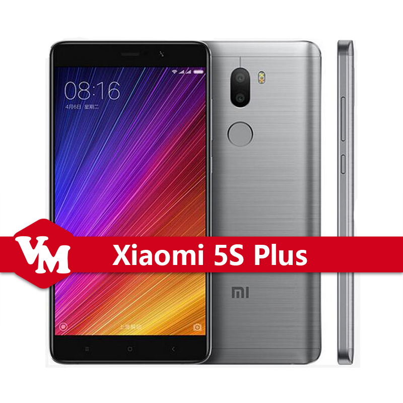 "Original Xiaomi Mi5s Plus Mobile Phone Mi 5S Plus 4GB RAM 64GB ROM Snapdragon 821 Quad Core 5.7"" FHD 4G LTE NFC Quick Charge"