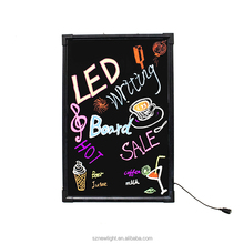 Good quality and low price led sign board publicity and advertising product/led writing board