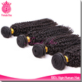 female star malaysian afro kinky curl sew in human hair weave extensions