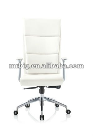 2012 HOT SALES FULL ALUMINIUM ALLOY FRAME OFFCIE LEATHER CHAIR