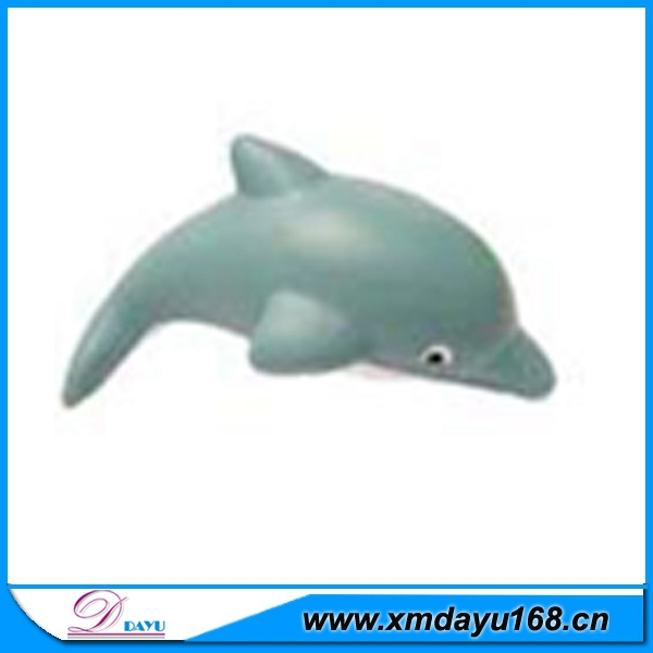 Custom Design PU Whale Shape Stress Toy Ball