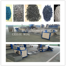 recycled granules making machine unit