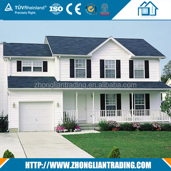 China villa building material colorful stone coated steel roofing sheet tile