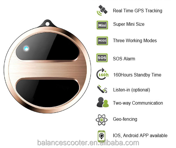 ISO9001 Manufacturer 3g gps tracker mini IOS or Addroid child/old people/asset gps tracking device