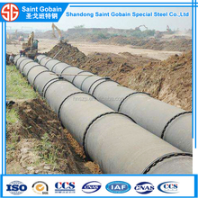 Ductile Iron Pipe DN500mm, Push on Joint/ Self - Restrained Joint