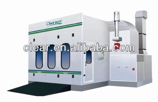 Electrostatic , various options and High Quality Car Body Spray Painting Booth HX-800